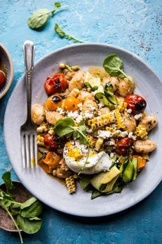 Simple Summer Tomato Pesto and Grilled Corn Gnocchi | halfbakedharvest.com @hbharvest