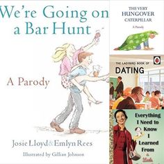 Loving the trend for Parodys of all your favorite children's books but with an adult twist! Perfect gifts #goingonabarhunt #hungovercaterpillar #ladybirdbooksforadults #goldenbooksrock #stfdnz #shutthefrontdoorstore