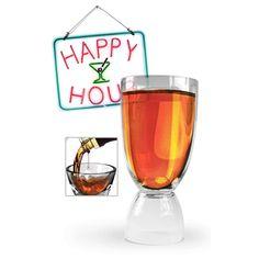 Happy Hour Glass