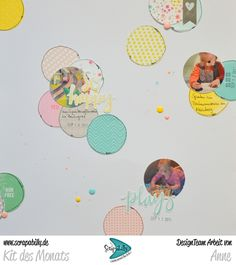 Bunterpinguin: Scrapbooklayout für Scrapabilly mit Pink Paislee Fancy Free Paige Evans