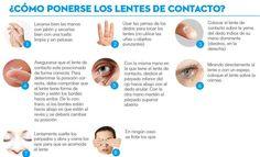 Infecciones en los ojos por el mal uso de lentes de contacto... ¡Precaución!