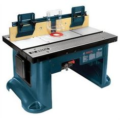 New Bosch RA1181 Benchtop Router Table