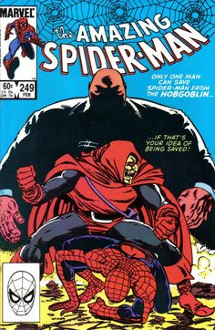 The Amazing Spider-Man #249 (1963 series) - cover by John Byrne