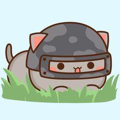Cute Cats, Funny Cats, Cat Couple, Chibi Cat, Cute Couple Drawings, Cute Love Cartoons, Cute Doodles, Cute Images, Cute Gif