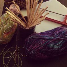 Tools of the trade #beaushelle #fiber #artist #love