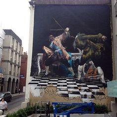 Epic new mural in Bristol, UK. Hoping this comes on a print soon.