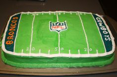 football kids party cake