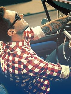 Adam Levine. That sexy man and those tattoos just do something to me!