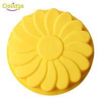 3D Flor Forma Molde de Silicone Bolo Bakeware Ferramentas de Decoração Do Bolo…