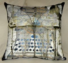 Ready To Ship  Designer  Pillow Cover  Royal by floorartetc