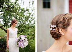 Lilac   Lace Country Chic Wedding Inspiration {The Light   Color}