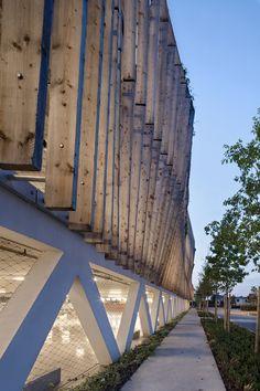 Parking in Soissons by Jacques Ferrier Architectures (Emmanuel Coudert (project leader), Corentin Lespagnol (image conception), David Juhel, Harold Chaveneau) / 02200 Soissons, France