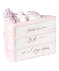 Sweet Sixteen Little Slice of Nice Ceramic Box by Hallmark #zulily #zulilyfinds