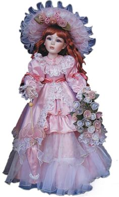 Victorian Porcelain Doll-Stunning Victorian doll-Porcelain ...