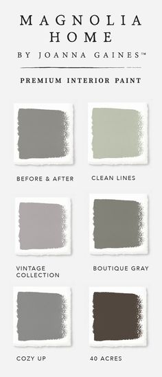 There's no such thing as just one shade of gray in designer Joanna Gaines' Magnolia Home Paint collection. Explore the versatility of these timeless neutral colors and find the color palette that reflects your unique sense of style.