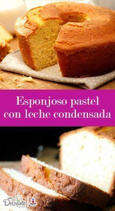 receta de pastel con leche condensada | CocinaDelirante