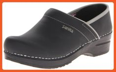 Sanita Women's Professional Shelby Mule,Black,39 EU/8-8.5 M US - Mules and clogs for women (*Amazon Partner-Link)