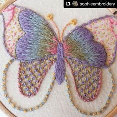 @sophieembroidery #crewelwork #broderie #embroidery #ricamo #bordado #handembroidery #needlework