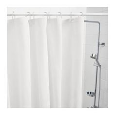 IKEA - EGGEGRUND, Shower curtain, , Can be easily cut to the desired length.