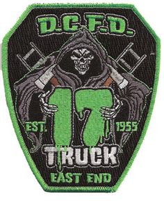 Dcfd truck 17 patch