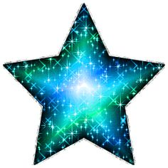 glitter animated star background | Glitter Graphic Comment: Large Blue Green Glitter Star With Silver ...