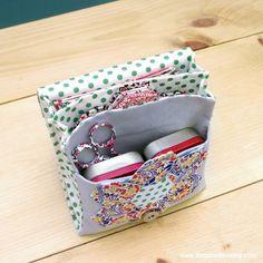 Tutorial: English Paper Piecing Travel Kit, Hexies Part 3 | The Zen of Making
