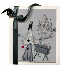 Montmartre - Diagramme broderie - Soizic