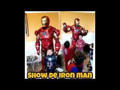 Iron Man en tu fiesta de cumpleaños - Argentina