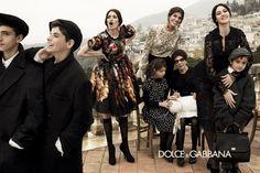 Giampaolo Sgura for Dolce & Gabbana - Campagne A-H 2012-2013 with Bianca Balti - Monica Bellucci & Bianca Brandolini