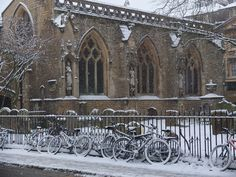 St Mary Mag's in snow