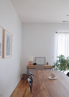 Home Tour — Nina Johnson House Tours, Maine, Chicago, Dining Table, Living Room, West Elm, Furniture, Archive, Interiors