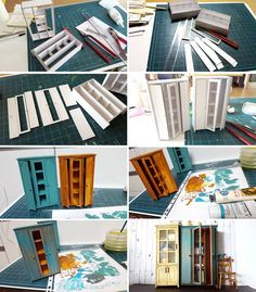 15 Brilliant and Easy DIY Crafting Hacks Dollhouse Miniature Tutorials, Miniature Crafts, Miniature Dolls, Modern Dollhouse, Diy Dollhouse, Dollhouse Miniatures, Mini Doll House, Barbie Doll House, Doll House Crafts
