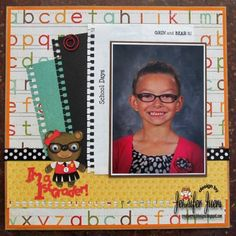 If you managed to get just one photo at the start of school, or you have an extra special photo you'd like to showcase, here are 10 layout ideas to give you some inspiration. These scrapbook …