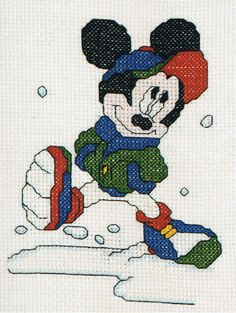 Mickey Mouse #Disney Classics Cross Stitch Kit From Royal Paris 6.430-62 find this kit here http://www.ebay.co.uk/itm/Mickey-Mouse-Disney-Classics-Cross-Stitch-Kit-Royal-Paris-6-430-62-/150898609228?pt=UK_Crafts_CrossStitch_RL&hash=item2322420c4c