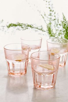 Shop UO Essential Glasses Set at Urban Outfitters today. We carry all the latest styles, colors and brands for you to choose from right here. Urban Outfitters, Kitchenware, Tableware, Kitchen Equipment, Dinnerware Sets, Green Wedding Shoes, Kitchen Accessories, Clothing Accessories, Interior Accessories