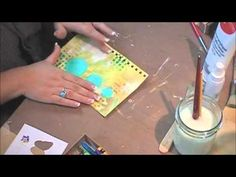 neocolors II video CarolineElliam///in french but still able to figure out what she is doing.....