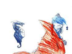 searching Watercolor Illustration, Watercolour, Colored Pencils, Searching, Illustrations, Ink, Abstract, Drawings, Artwork