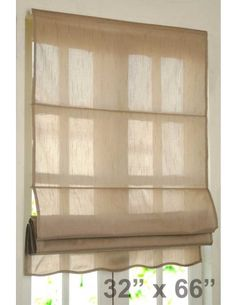 "#DecoWindow #Blinds Roman Blind Bangalore Silk 32"" Black Beige on specia lrice ₹499.00"