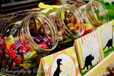 """dig in"" candy bar"