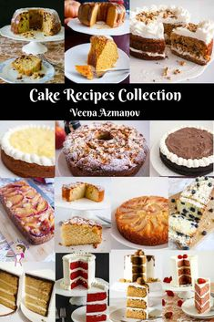 Here you will find all cake recipes from layer cakes to coffee cakes, cheesecakes, bars, brownies, and squares. As a cake decorator by profession, I made layer cakes in plenty, but coffee cakes are close to my heart and often for family and friends. The cupcakes and muffins are a great way to make bite-size yet impressive treats. #cakerecipes #cake #layercakes #coffeecakes #birthdaycakes #chocolatecakes #vanillacakes