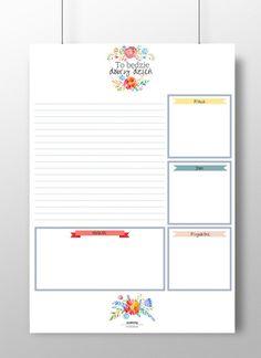 Planer dzienny - Szalony-Papiernik - Organizery na biurko