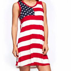 AMERICAN FLAG | MINI DRESS