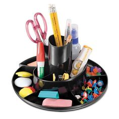 Officemate Desktop Rotary Organizer OIC26250,  (UPC:042491262505)