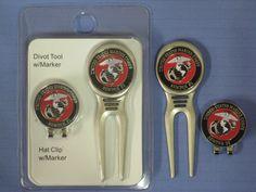 USMC Divot Tool, Hat Clip / Ball Marker