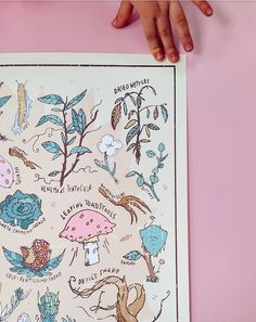 Step into Hogwarts Herbology Class with this Harry Potter themed Herbology print. This print has most of the things you will encounter in Herbology class with Professor Sprout. From the popular Mandra