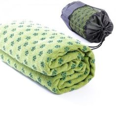 YSYT Deal Non-Slip Yoga Dot Grip Towel Mat with Bag, 63 x 180cm 1404017411