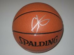 Carmelo Anthony New York Knicks Spalding Signed Autographed Basketball Authentic Certified Coa by All-Star Sports Memorabilia. $149.99. Buying a great autographed basketball hand signed great piece to add with a collection. Comes with Coa and 100% satisfaction.