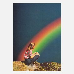 Night Rainbow 12x18 Beth Hoeckel
