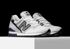 The New Balance 996 has always been a staple in NB's retro running category, and today a classic combination of suede and mesh hits in one of the cleanest offerings in recent memory. A durable white suede serves as the … Continue reading →
