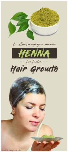 How To Apply Henna For Hair Growth? Henna is not just a natural dye and conditioner for hair. Here this article has explanation about how to use and apply henna for hair growth and how to make henna also. Henna For Hair Growth, Henna Hair Dyes, Hair Growth Oil, Natural Hair Growth, Natural Hair Styles, How To Apply Henna, Hair Health And Beauty, Beauty Skin, Simple Prom Hair